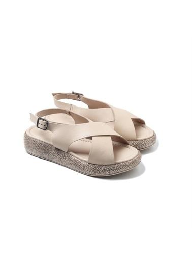 John May Spor Sandalet Bej